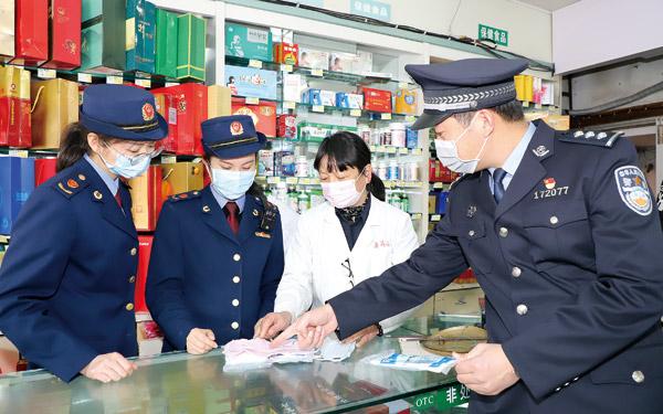 我市公安、市场监管等部门联合开展医用口罩专项整治行动