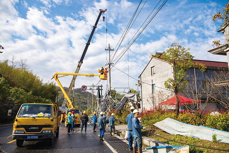 电力抢修保复工复产