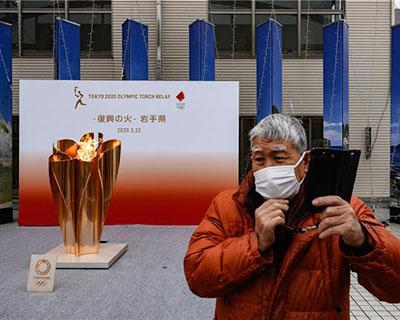奥运圣火未来一年将在东京保存