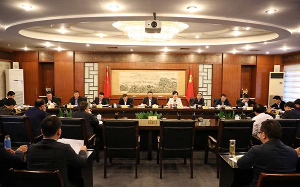 十四届市委第八十二次常委会会议召开