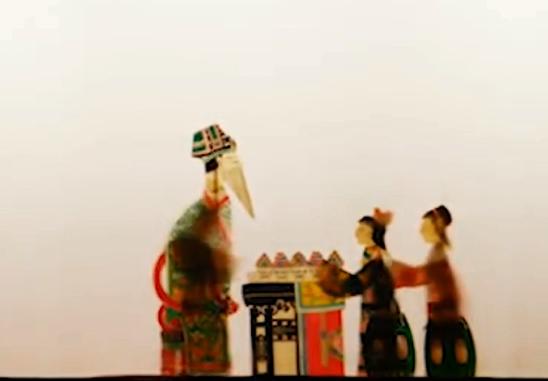 """海寧皮影""""戲說""""為啥要用公筷公勺"""