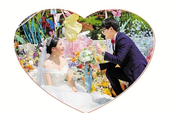 """40对新人在德清举办集体婚礼 爱在战""""疫""""归来时"""