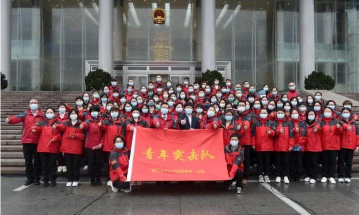 """浙江各地团员青年迎接五四青年节 让最美青春在战""""疫""""中绽放"""