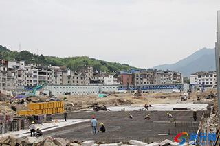 滨江商品房地产项目建设忙