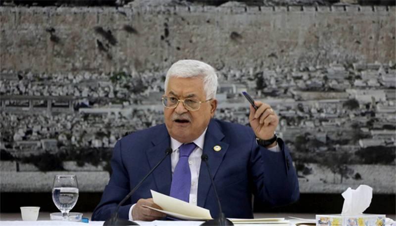 巴勒斯坦宣布停止履行与美以达成的所有协议