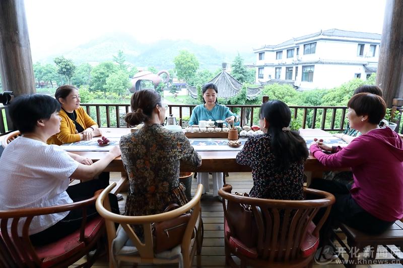 """开化县举办""""无我""""茶会 以茶会友"""