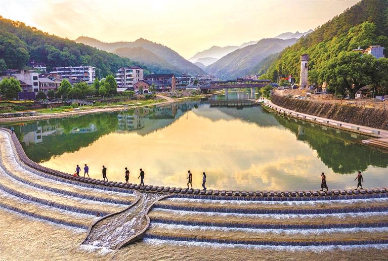 三江口综合整治提升工程是我市首例以水利工程为抓手