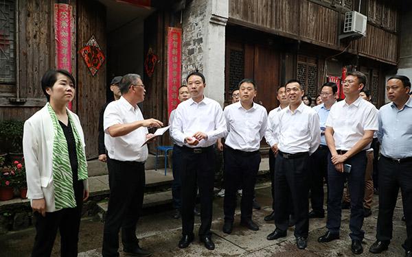 梅式苗:决战百天高标准高质量推进台州府城文化旅游区创5A工作