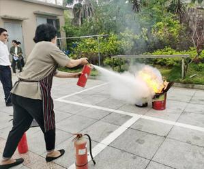 消防演练 提升应急技能