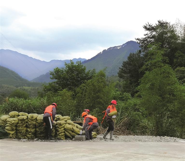 瑞��引水一期工程PPP项目开展防汛度汛应急救援演练
