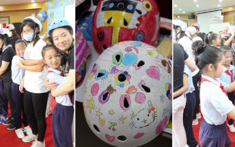 """幸""""盔""""有你!杭州小學生為自己父母戴上心中最美最酷的頭盔"""