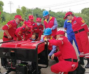 实操培训提升救援能力