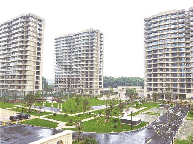 绍兴市最大人才公寓全面完工