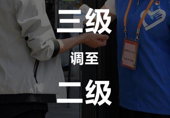 北京市应急响应级别由三级调至二级