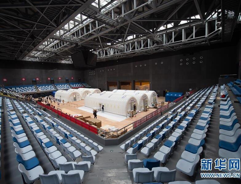 """北京首座气膜版""""火眼""""核酸检测实验室正式运行"""