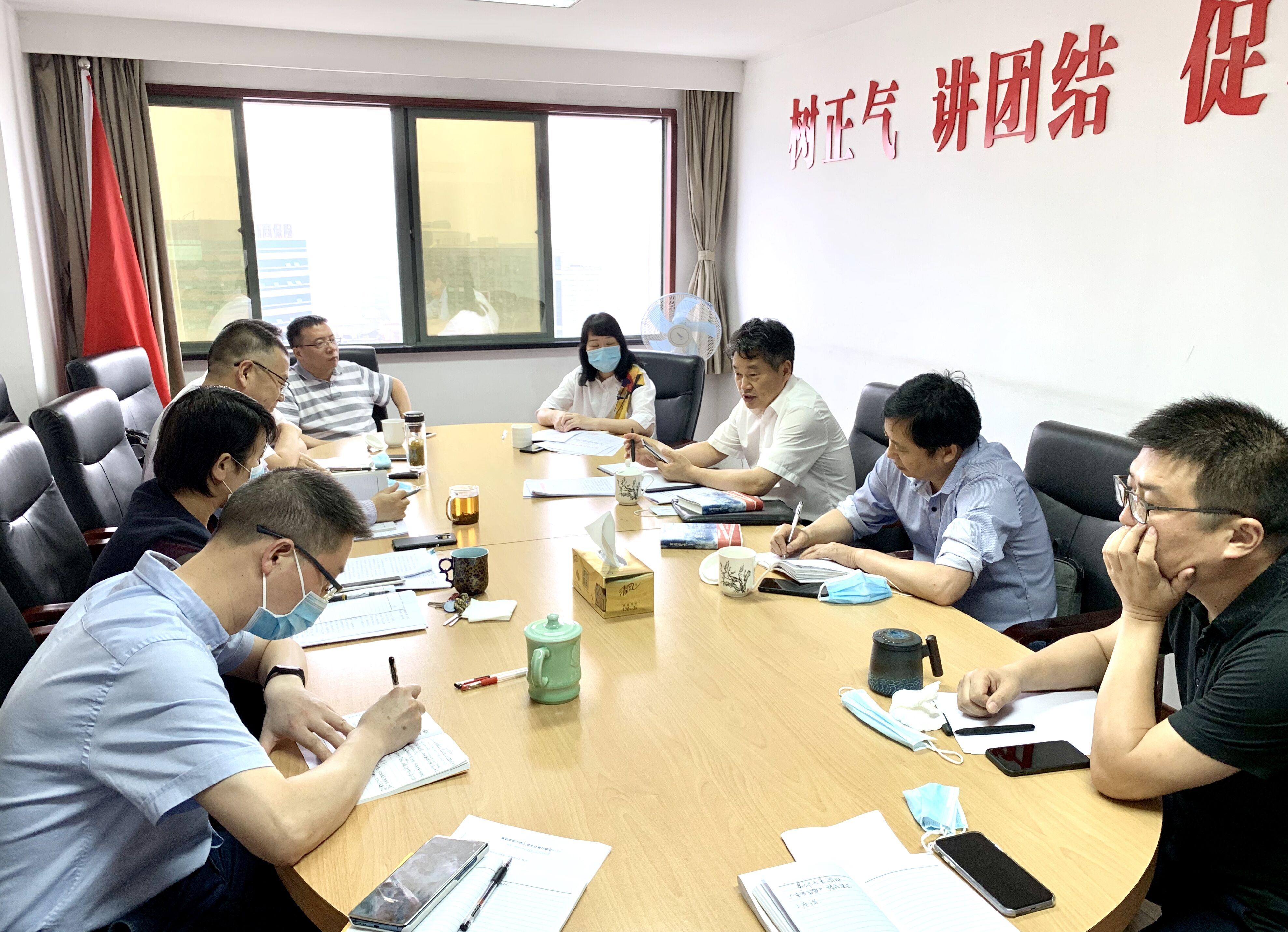 省委宣傳部副部長葛學斌調研文學工作