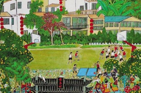 """衢州余东村农民画""""活""""了 来看一幅画如何绘出美好生活"""