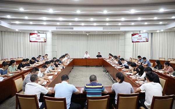 梅式苗参加市委办机关支部主题党日活动