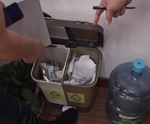 创城在行动:县机关事务管理中心督查全县机关单位垃圾分类工作