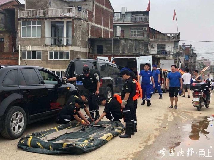 余姚兩支民間救援隊馳援江西鄱陽 抗洪一線搜救上千人