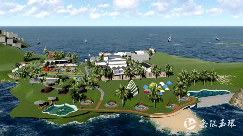 玉环鸡山:洋屿岛后海项目动土开工