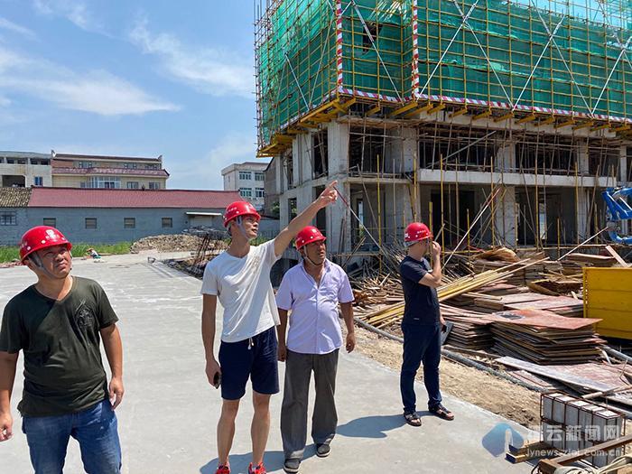 县建设局组织开展第二季度在建工程质量安全生产大检查