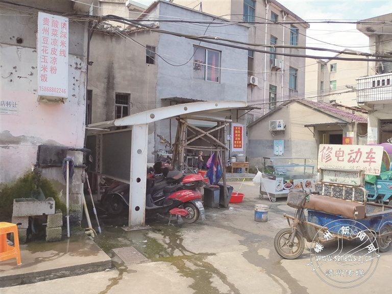 莲塘农贸市场环境堪忧