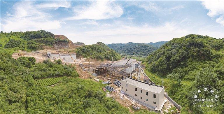 嵊兴矿业基础工程建设有序推进
