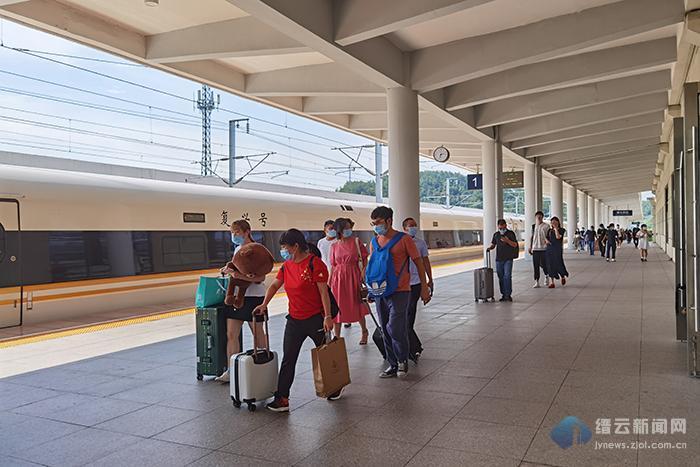 快讯 高铁缙云西站恢复开行北京方向列车