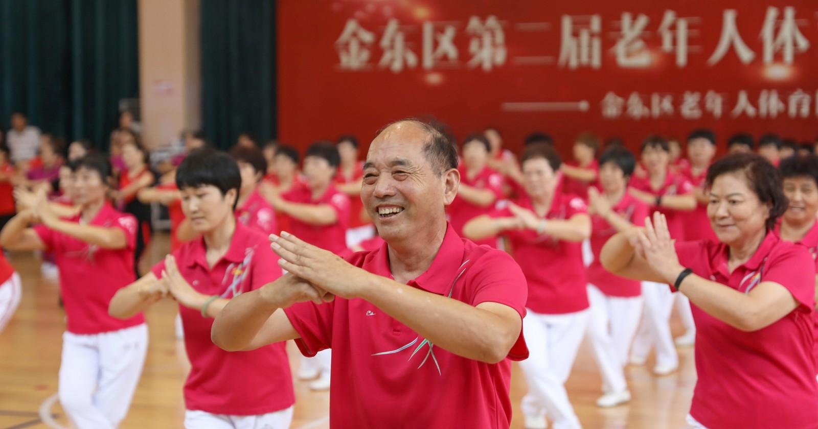 我区举行第二届老年人体育运动会