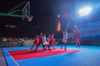 """2020年""""百山祖国家公园杯""""4X4篮球赛举行"""