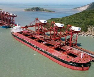 鼠浪湖矿石中转码头接卸量破亿吨