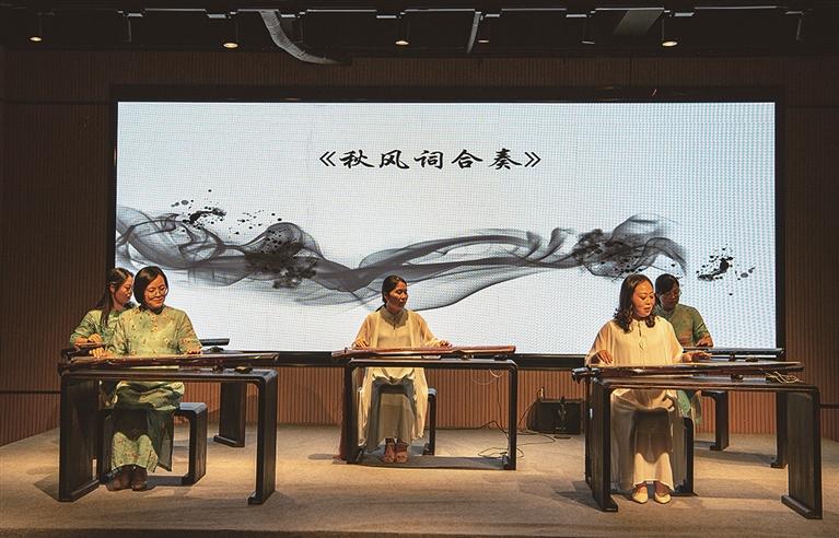 """市新华书店、一然琴馆联合举办 """"如是・七夕""""古琴雅集活动"""