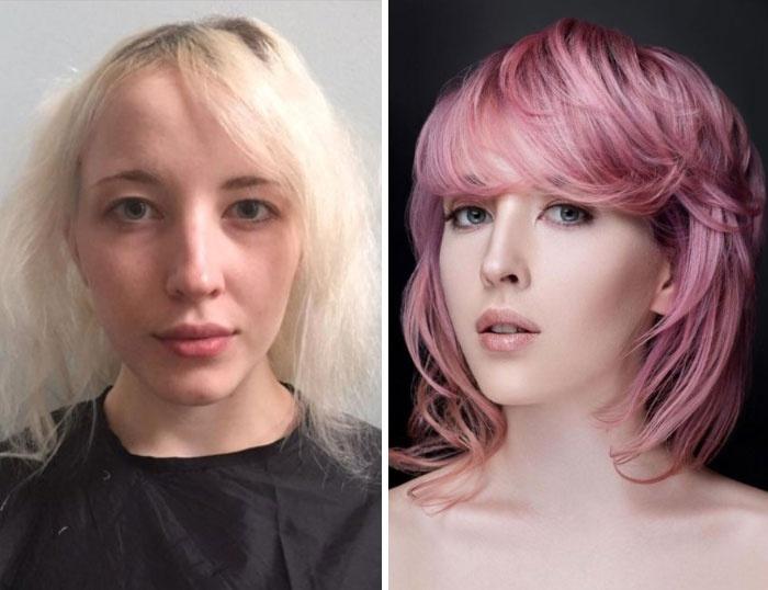 换一种发型 就是换一种风格