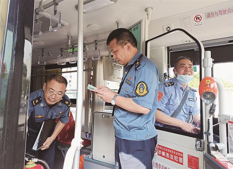 市运管局组织工作人员从源头开始加大安全隐患排查力度