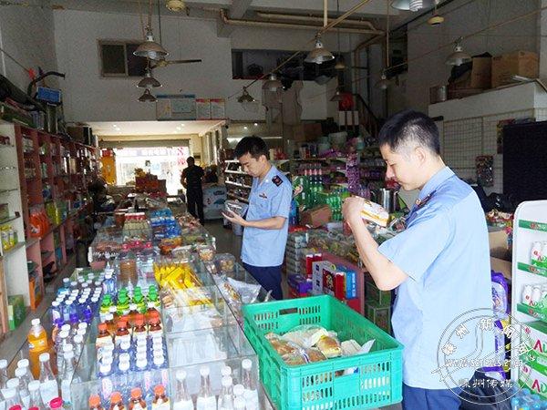 鹿山市场监管所开展校园周边食品安全专项检查