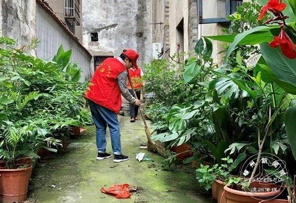 市医保局常态化开展志愿服务