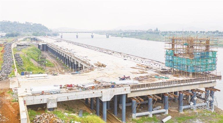 三界码头完成主体建设