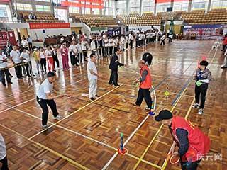 """2020年庆元县""""喜迎铁路时代""""老干部趣味运动会举行"""