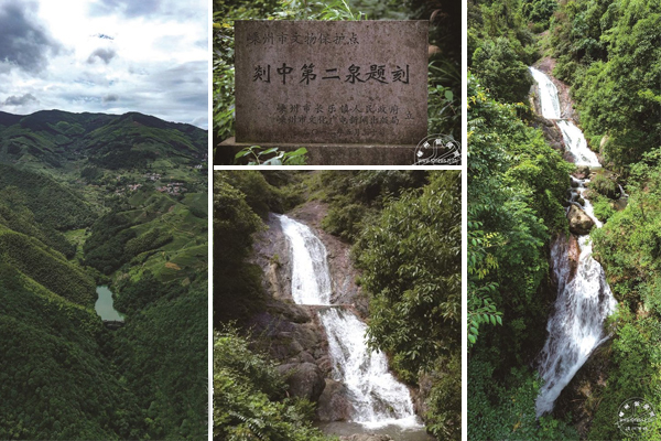 剡中第二泉,鹿苑寺深藏的飞瀑美景