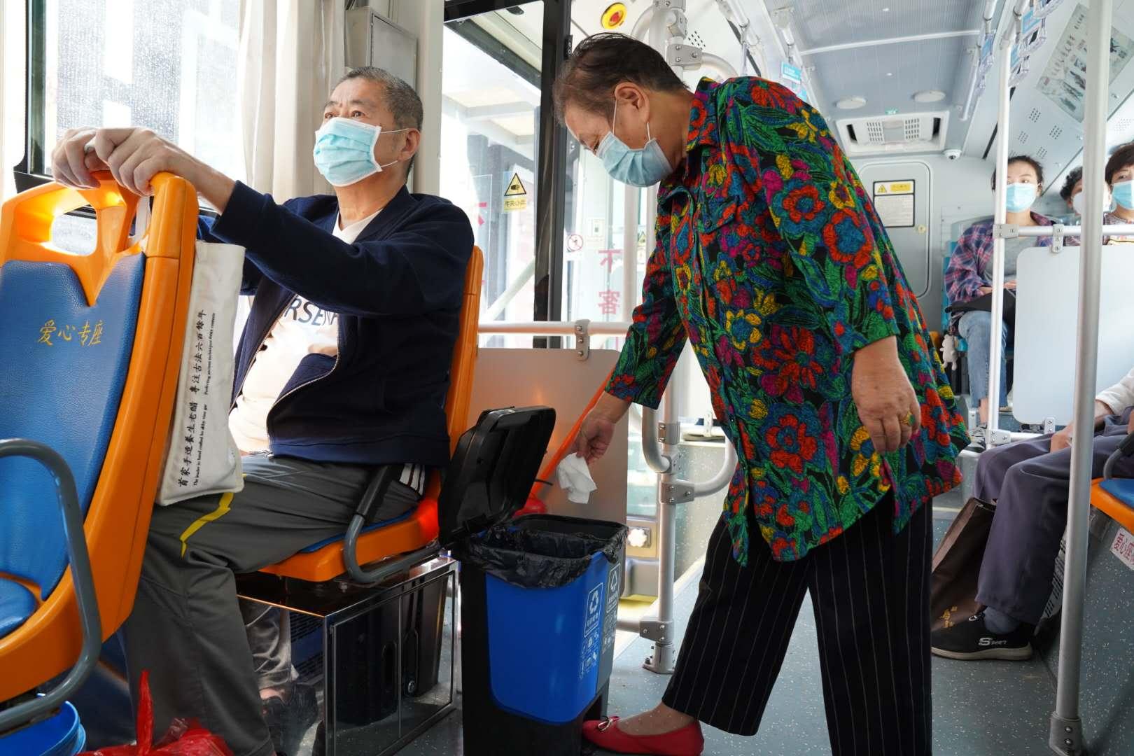 垃圾分类上公交
