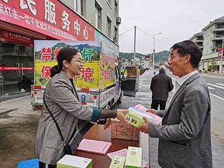 县农业农村局开展禁烧秸秆宣传工作