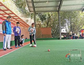 庆元县2020年少年门球赛举行