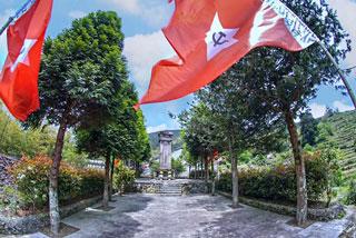 红军挺进师斋郎战斗旧址获评首批浙江省青少年红色基因传承基地