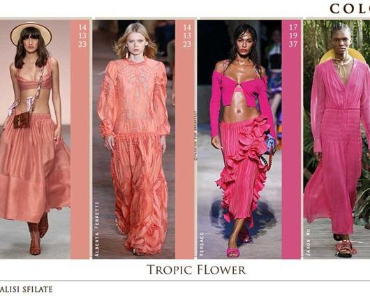 2020春夏时装周的流行色趋势