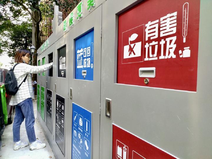 老舊公廁變身垃圾分類柜!來看寧波海曙這個小區的好做法