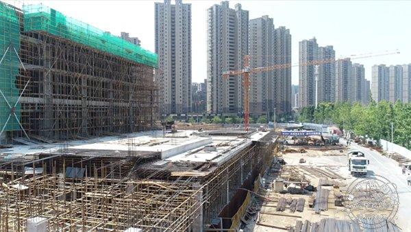 嵊新第一高楼预计明年建成