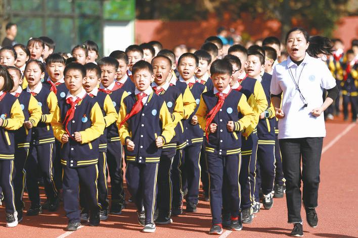"""金东各学校打出体育运动""""组合拳"""""""