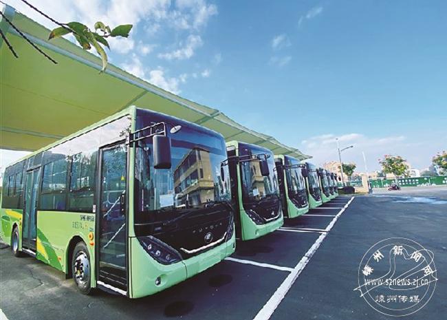 我市新购公交车97辆