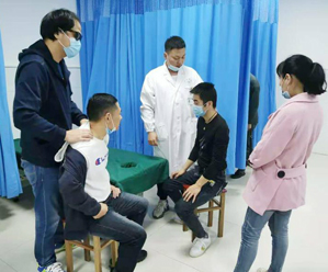 培训按摩职业技能 提高盲人就业能力